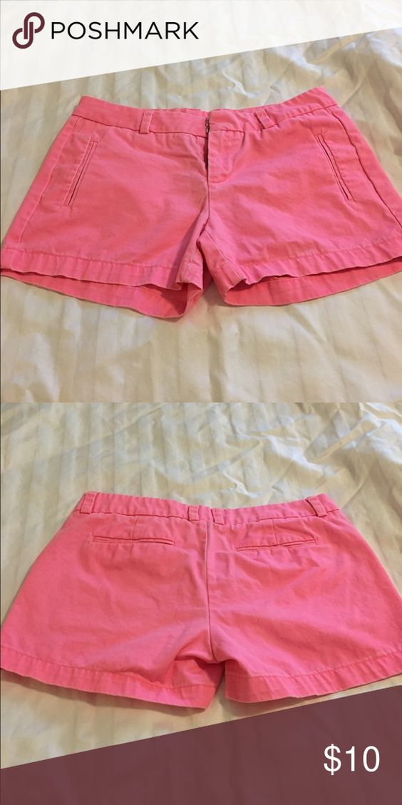 Hot pink shorts Bought this year and worn once! Great condition. Stylus Shorts