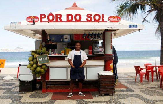 """Dayvison Nascimento, 25:  """"Ich erwarte, dass viele Touristen hierherkommen und..."""