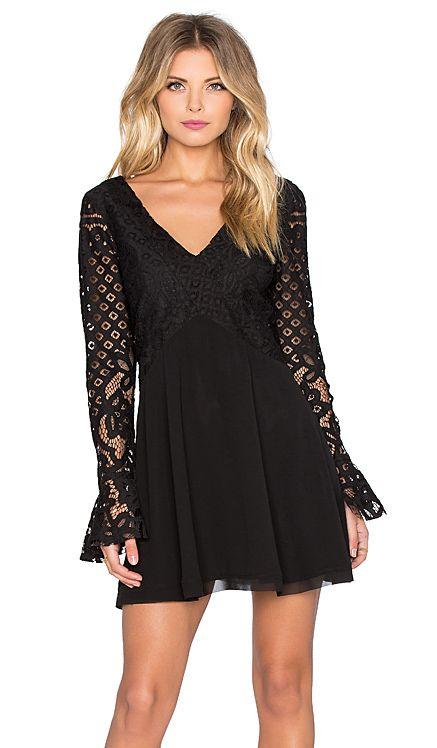 Tularosa x REVOLVE Skylar Dress in Black | REVOLVE