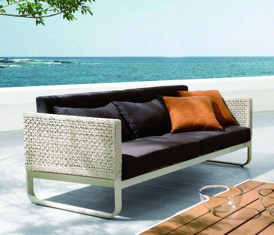Orlando 3 Seater Sofa Grey Patio Furniture For Sale Outdoor Wicker Patio Furniture Sofa