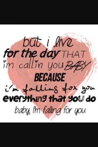 R5 falling for you lyrics!!