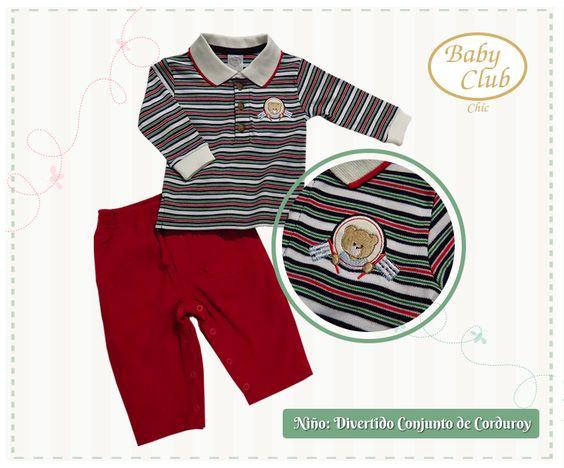 Set Polo y Pantalón Mi Carrito by Baby Club Chic.