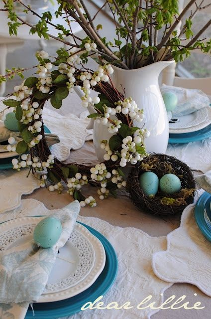 tablescapes for easter or spring - Bing Images