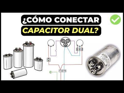 Como Conectar Capacitor Dual De Aire Acondicionado Youtube Aire Acondicionado Refrigeracion Y Aire Acondicionado Acondicionado