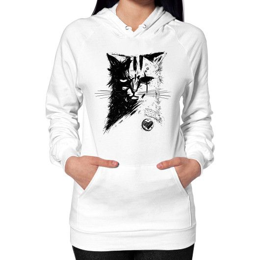 Stray Cat Hoodie (on woman)