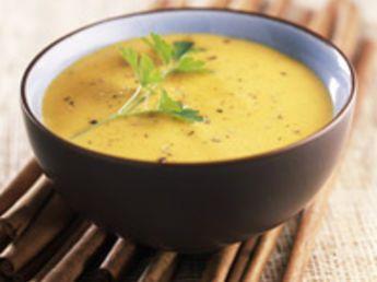 Soupe de potiron aux patates douces