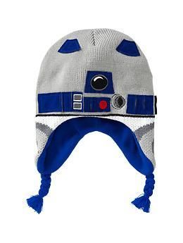 R2D2 tassel hat.  Would totally match my grey ski jacket.  Want.