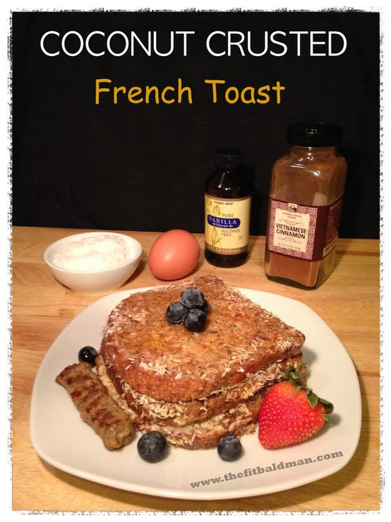 French toast, Toast and Healthy french toast on Pinterest