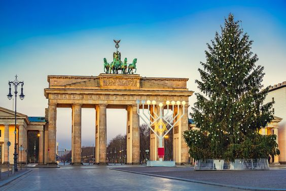 Christmas tree in Berlin