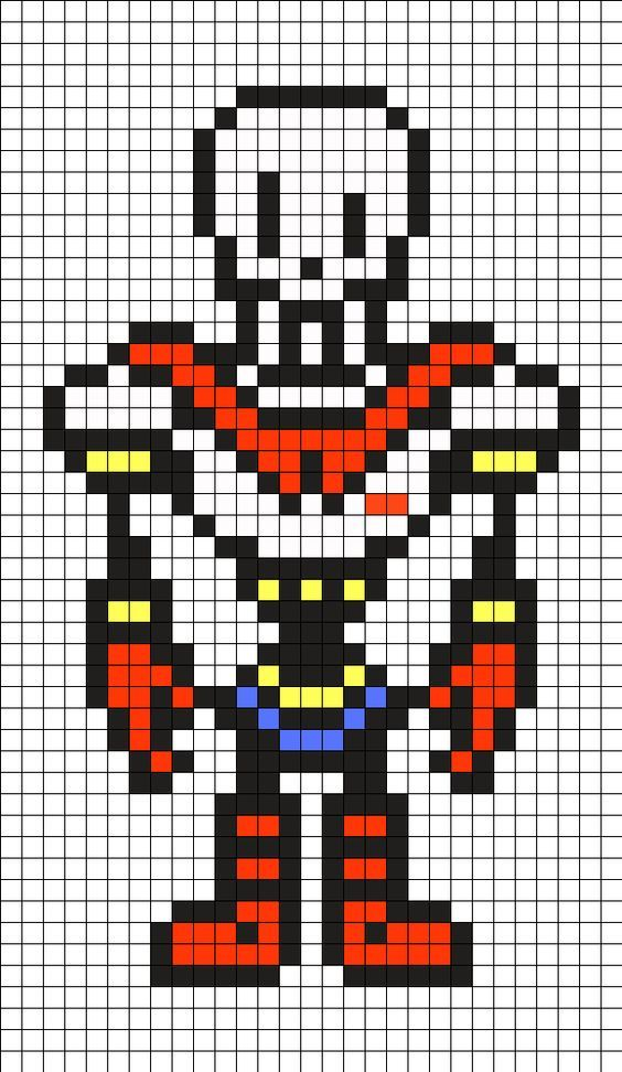 Drawing Lines With Pixels : Undertale hama bead templates google search ideas para
