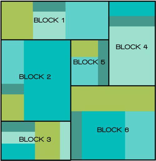 Tutorial - Michael Miller Cotton Couture: Color Block Queen Duvet
