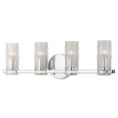 Hudson Valley Lighting Malone 4 Light Bath Vanity Light Finish: