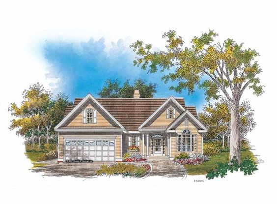 Eplans Cottage House Plan - Visual Expansion - 1703 Square Feet and 3 Bedrooms from Eplans - House Plan Code HWEPL08381
