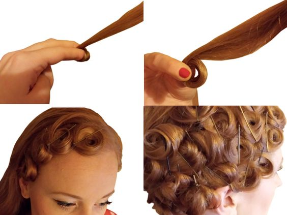 Your Step By Step Guide To The: Pin-curls-set-your-hair-to-fabulous-step-by-step-guide