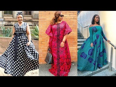 2019 Most Stylishly African Print Maxi Dresses New Look For Ladies Recent Beautiful African African Print Fashion Dresses African Fashion Fashion Collection