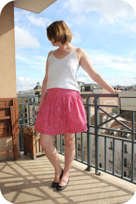 Basics Drop Skirt 2