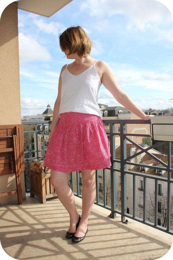 Basics Drop Skirt 2