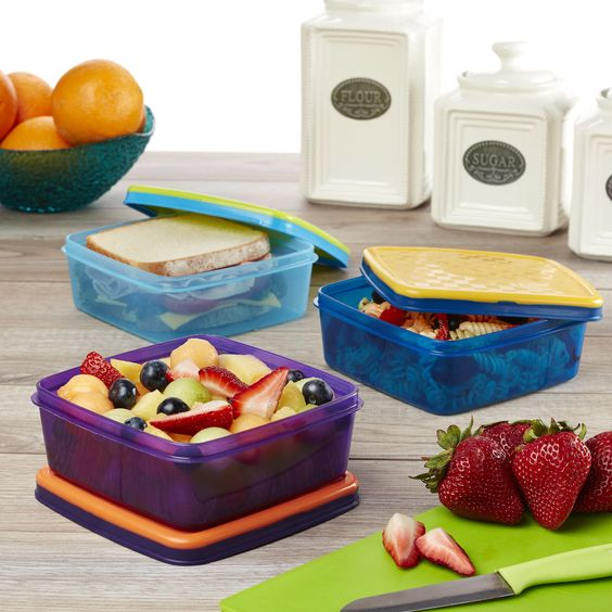 Leak-proof Sandwich POD Containers (Set of 3)