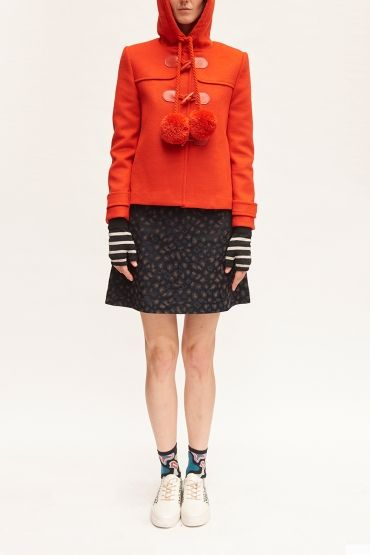 Pom-Pom Cherry duffle jacket by Gorman | Fashion Board | Pinterest