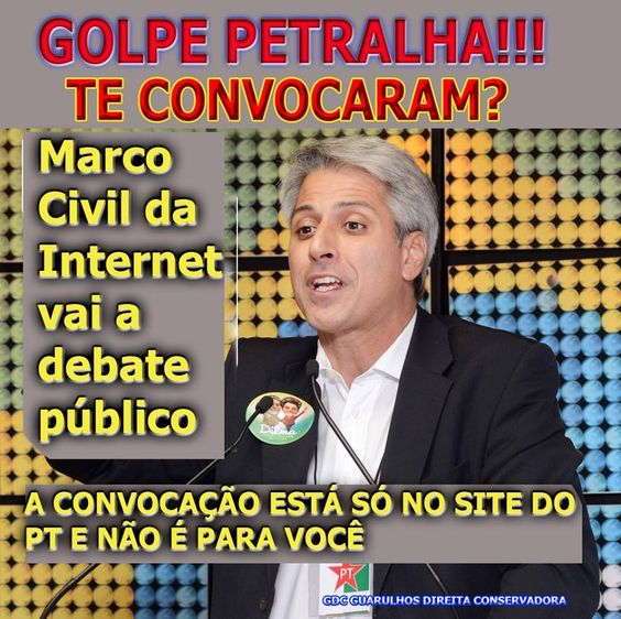 Post  #FALASÉRIO!  : REGULAMENTAÇÃO DA MÍDIA !