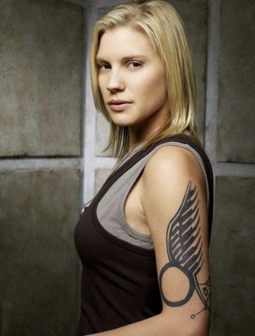Kara Thrace from Battlestar Galactica! #bsg