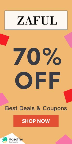 hasoffer Best Zaful 70% OFF Coupons