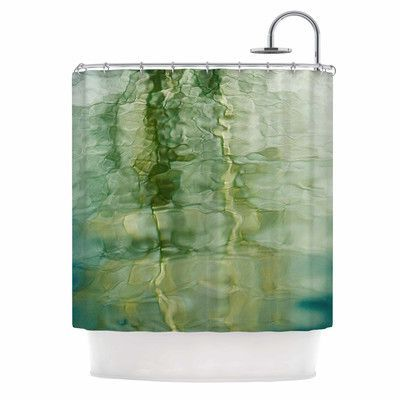 KESS InHouse Fluidity Series 3 by Malia Shields Abstract Shower Curtain