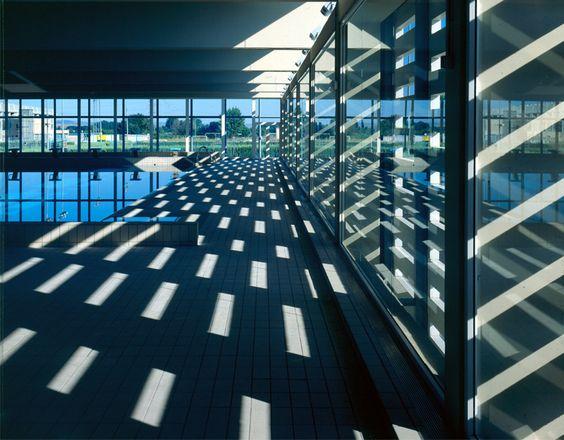 Emilio Tuñón Arquitectos [Tuñon y Mansilla] || (024) Centro de Natación de San Fernando de Henares (Madrid, España) || (1994-1998)