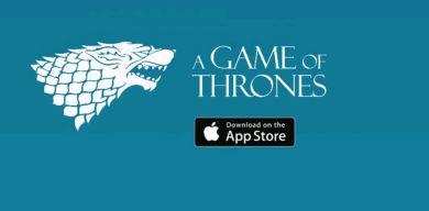 Lanzan aplicación  para no perderse nada de Game of Thrones