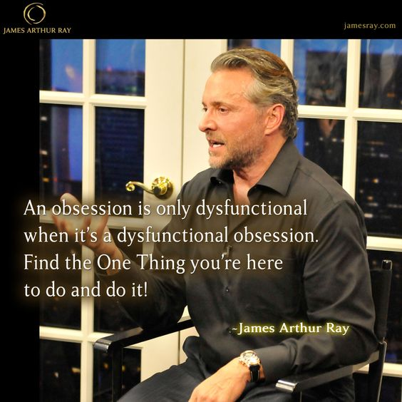 Find the One Thing you're here to do and do it! #Blog #Resilience #LIVEBIG https://jamesray.com/forget-balance-choose-mastery/