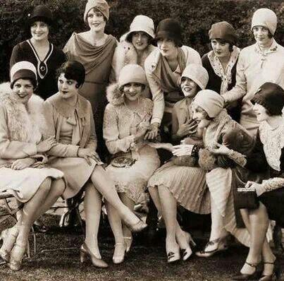 Mary Pickford's Tea Party 1920s