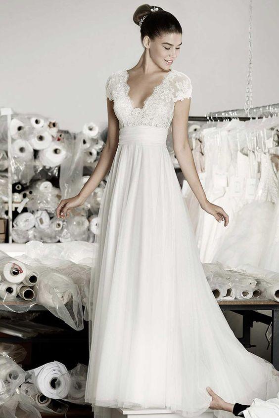 Brautkleider von Top-Marken | miss solution Bildergalerie - Angel by CYMBELINE (Atelier Kollektion)
