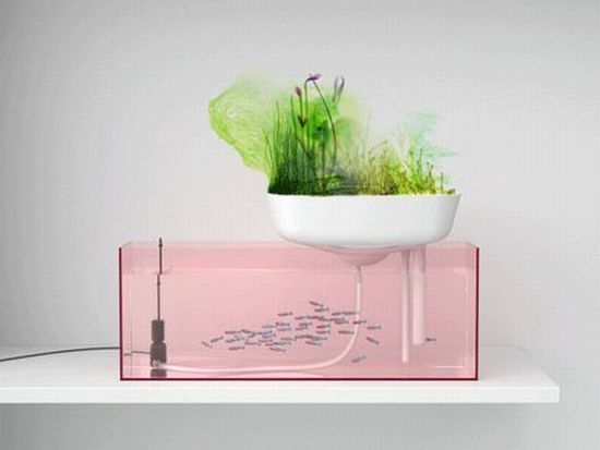 Floating Garden by Benjamin Graindorge