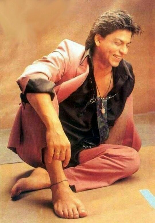 Image result for shahrukh khan bare feet