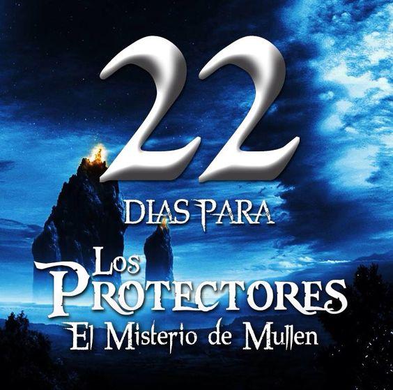 22 dias! #ElMisterioDeMullen