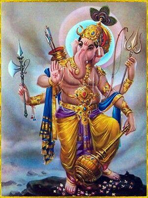 Ganesha,in War