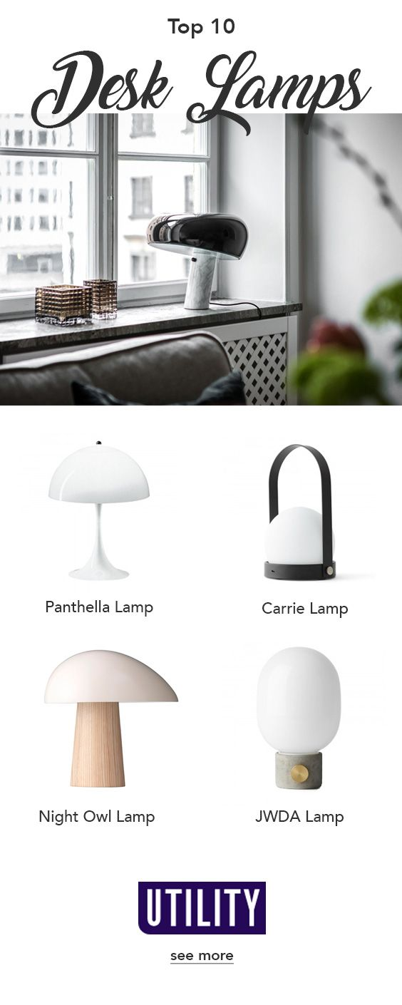 10 Best Table Desk Lamps For Your Home | Scandi table lamp