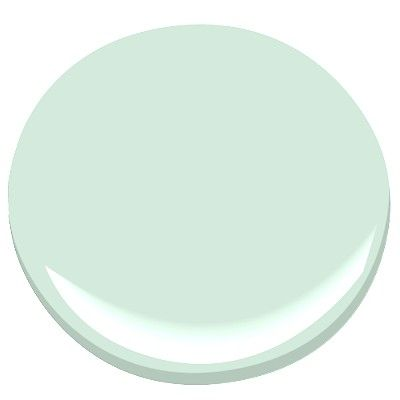 benjamin moore lido green - 617 - this color looks great with navy & pink (or orange) accents.