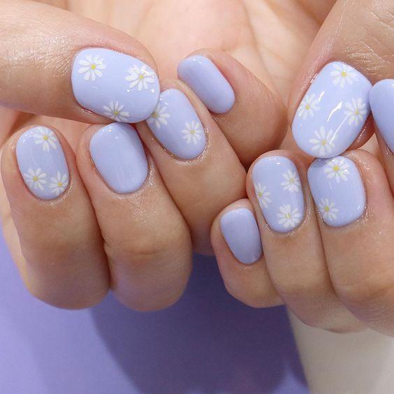 40 Beautiful Purple Nails Inspiration Photos Trends In 2021 Cute Gel Nails Nails Inspiration Purple Nails