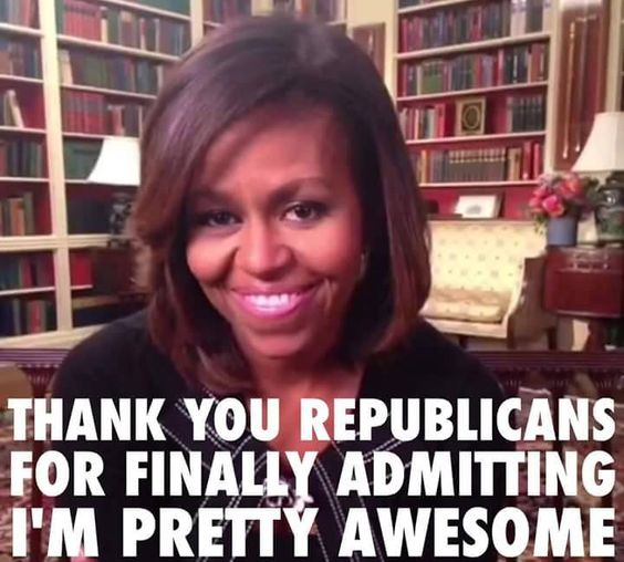 """Yup, Melania Trump stole Michelle Obama's 2008 DNC Speech & repeated it at the RNC in 2016. She got accolades for """"her"""" speech from the GOP."""