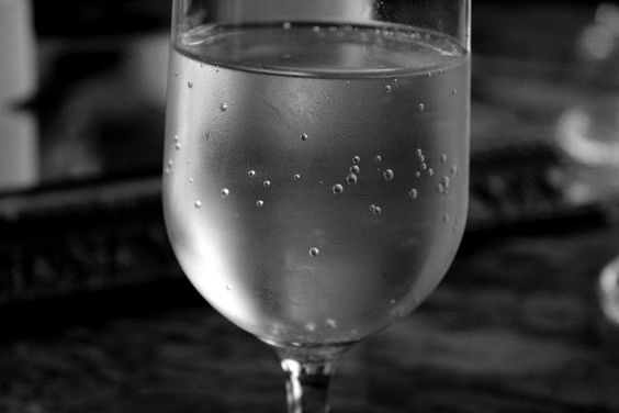 Stay hydrated; have a glass of water.