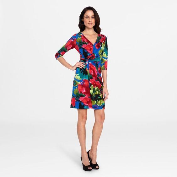 Tahari Paul Floral Dress ♥