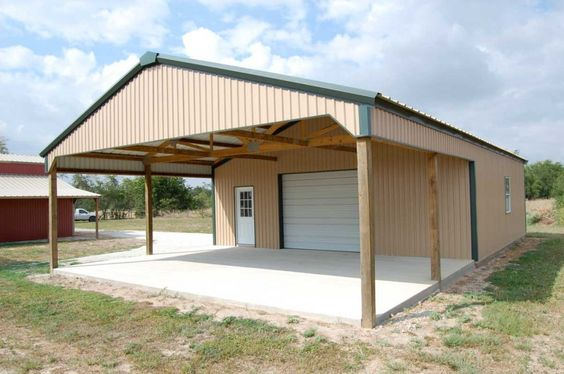 Metal barns visit our building models archery for Metal garage plans