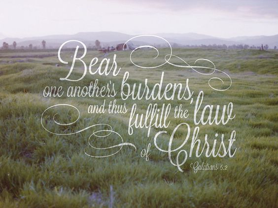 Galations 6:2