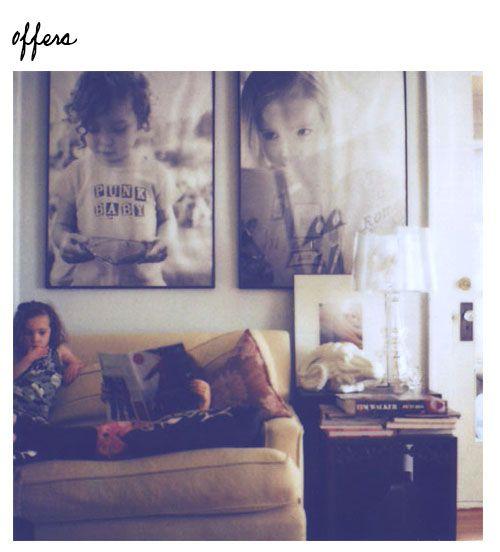 Giant Photos Framed.
