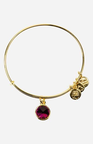 Alex and Ani Birthstone Expandable Wire Bangle | Nordstrom Noah's birthstone