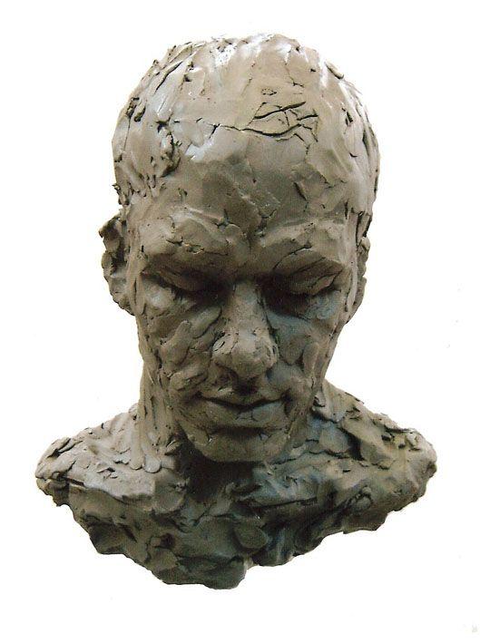 Sculpture portrait by London Atelier of Representational Art's tutor Valentina Zlatarova