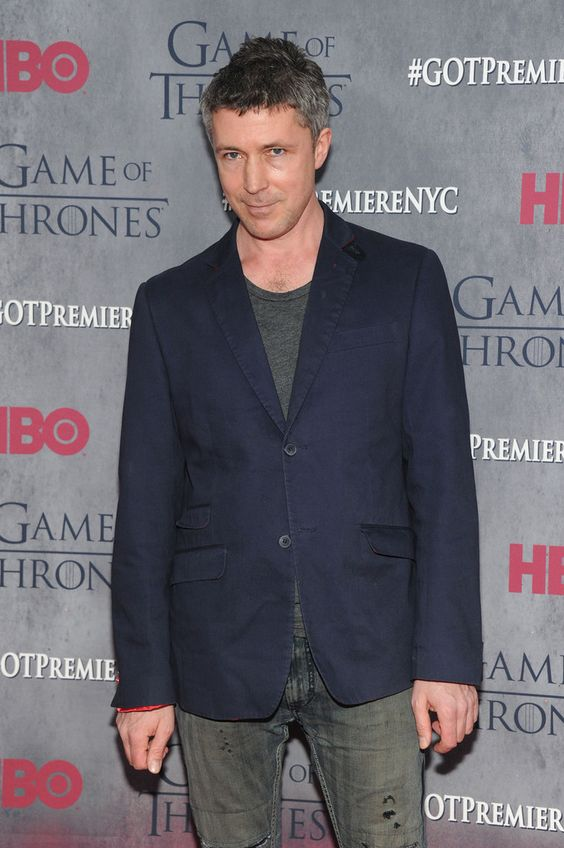 Aidan Gillen at the Game of Thrones NYC premiere on 18 March 2014. Getty Images.