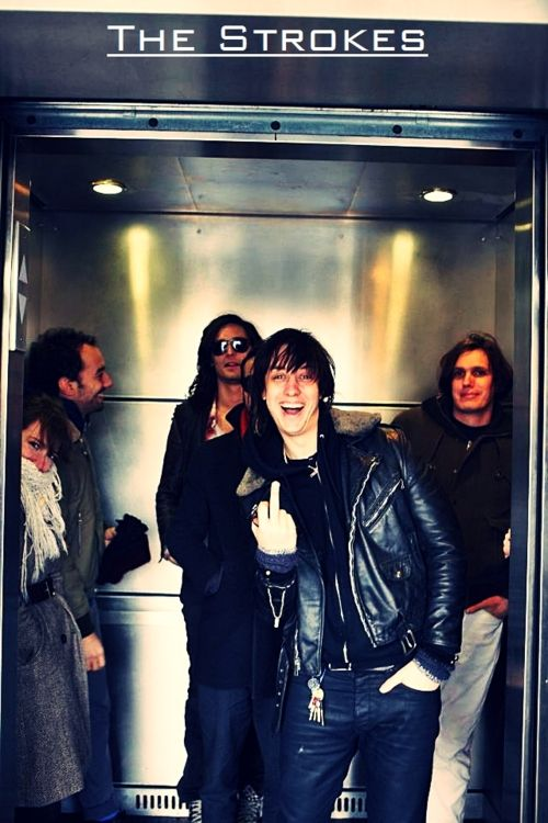 """• """"You Only Live Once"""" is the single from the third album by 'The Strokes'."""