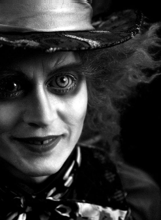 The Mad Hatter #wonderland #burton